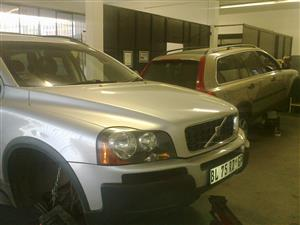 VOLVO XC90T6 Auto 2004. Stripping for spares.
