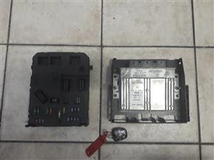 Citroen C2 VTR - 1.4 8v. – Key set – Ecu, Bsi , Key remote for sale – Plug and Play