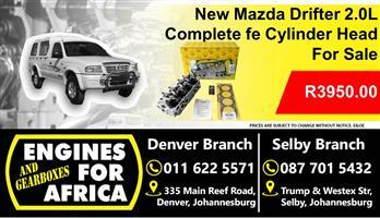 Mazda Drifter 2.0L Fe Complete Cylinder Head For Sale