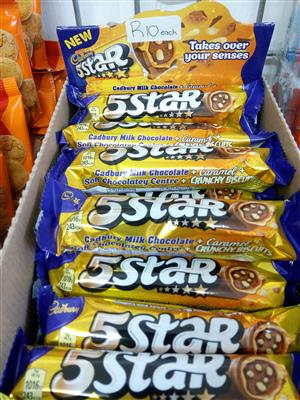 Cadbury 5Star Caramel crunchy biscuit chocolate