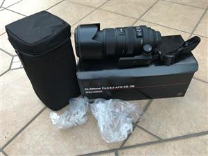 Sigma 50-500mm APO DG OS for Nikon