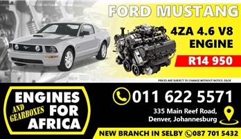 Used Ford Mustang 4ZA 4.6L V8 Engine FOR SALE