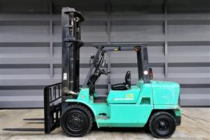 4.5 Ton Mitsubishi FD45 Forklift For Sale