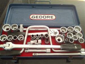 COMPLETE GEDORE SOCKET WRENCH SET