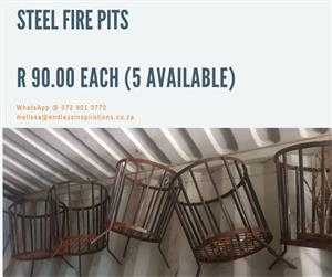 STEEL FIRE PITS FOR SALE