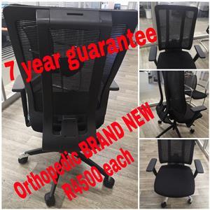Orthopeadic chairs 7 year guarantee BRAND NEW
