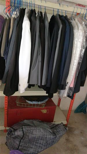 Mens Jackets and trousers for sale (used)