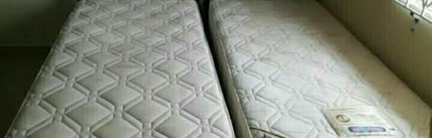 2 German single mattress