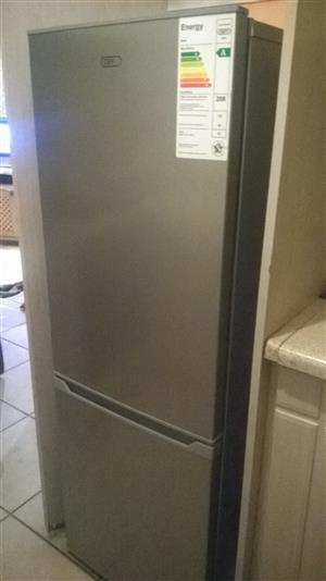 Defy silver fridge freezer R1800