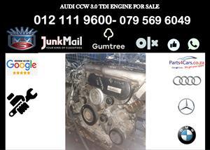 Audi Ccw 3.0 tdi engine for sale