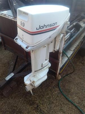 9.9hp jJohnson outboard motor