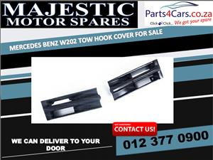 Mercedes benz W202 tow hook covers for sale