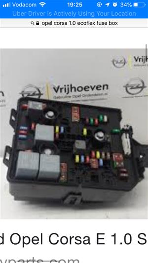Fuse box for sale