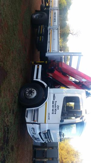 CRANE TRUCK AND TRAILER HIRE