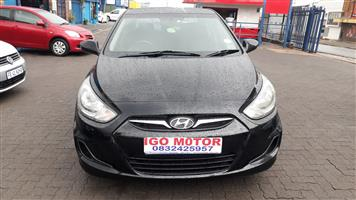 2014 Hyundai Accent sedan 1.6 Motion