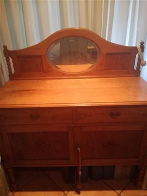 Beautiful Oak Bedroom Table