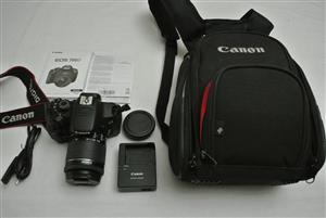 Canon EOS 700D DSLR with Canon 18-55mm STM Lens