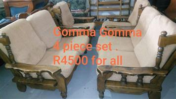 Gomma gomma 4 piece lounge suite