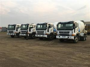 Rent to buy on our mixer trucks!