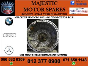 Mercedes benz C240 V6 722646 gearbox for sale