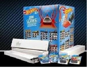 Hot Wheels 2018 Factory sealed BOX Complete 2018 475 cars Every Car has a factory sealed set Holographic sticker on also . Incl all super treasure hunts mail in exclusives etc Very Hard find only 1000 made.