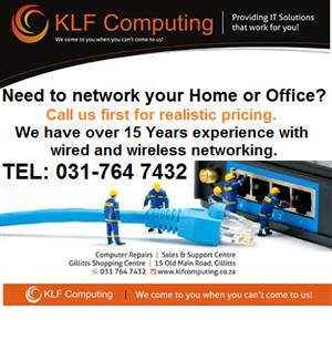 Do you need your Office or Home Networked.
