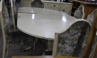 S035588H 7 piece Dining room set #Rosettenvillepawnshop
