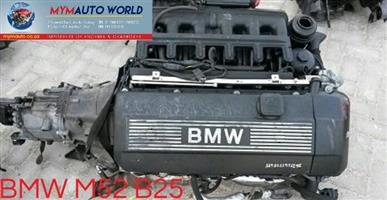 Imported used BMW E36/E46 6 CYLINDER 24V,  Complete second hand used engines