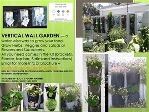 Vertical Wall Gardens - Green Walls - Grow your food on your walls