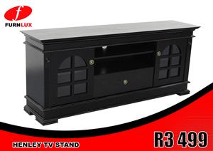 BRAND NEW TV UNIT !!!!!! HENLEY TV STAND FOR ONLY R 3 499