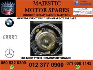 mercedes benz w207 722906 gearbox for sale