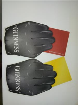 Guinness Red Card, Yellow Card Beer Mats
