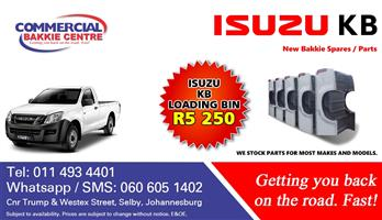 isuzu kb 2013- load bin for sale