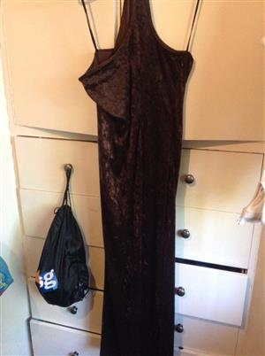 Brown suede dress for sale