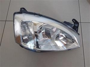 OPEL CORSA UTILITY 05/11 BRAND NEW HEADLIGHTS FOR SALE PRICE:R650 EACH