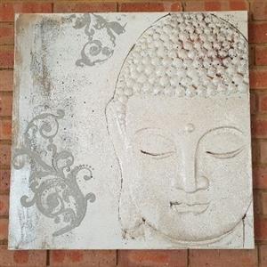 Buddha canvas print painting