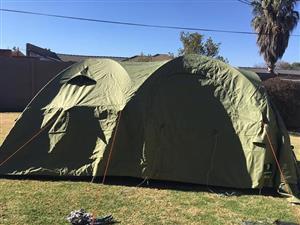 6 sleeper canvas tent