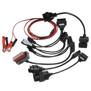 8 Cable OBD2 adapter set