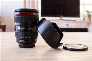 Canon 24-105mm USM L series lens
