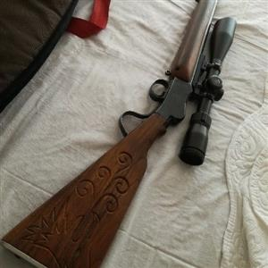 .22 hunting rifle