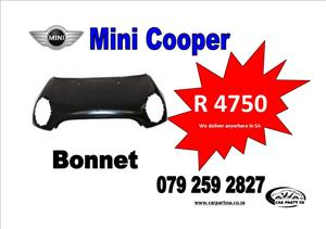 MINI COOPE S BONNET R4750  CALL OR WATT APP  079 259 2827