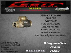 SUZUKI KIZASHI STARTER FOR SALE