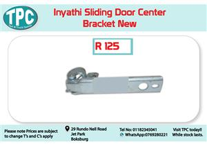 Inyathi Sliding Door Center Bracket for Sale at TPC