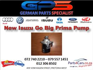New Isuzu Go Big Prima Pump for Sale