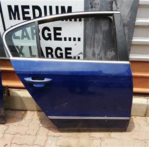 VW Passat 2007 RH Rear complete Door