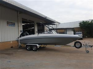 classic 230 on trailer 2020 model 250 hp mercury verado 4 stroke