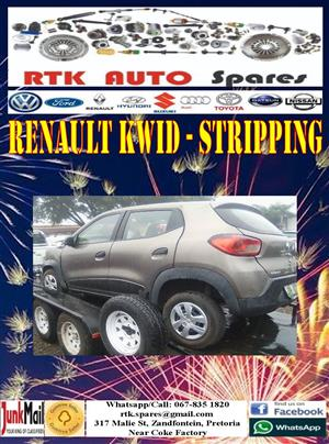 Renault Kwid - Stripping for Spares