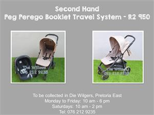 Second Hand Peg Perego Booklet Travel System