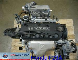 Imported used second hand engines, HONDA ACCORD, F23A