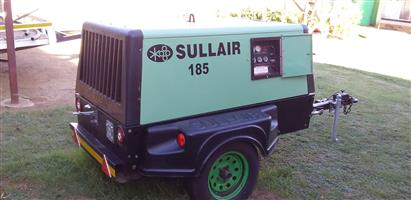 2007 Sulliar 185 mobile diesel compressor